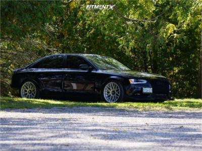 2014 Audi A4 Quattro - 19x10 35mm - Rotiform Rse - Coilovers - 255/35R19