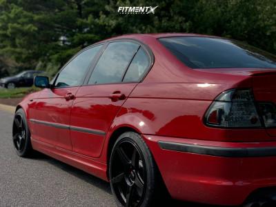2003 BMW 330i - 18x8.5 25mm - XXR 575 - Stock Suspension - 235/45R18
