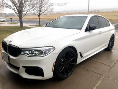 2018 BMW M550i xDrive - 20x9 25mm - Rohana Rf1 - Stock Suspension - 245/35R20