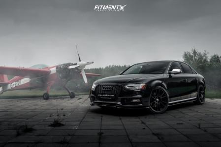 2014 Audi S4 - 20x8.5 35mm - OZ Racing Ultraleggera - Stock Suspension - 245/30R20