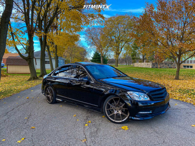 2011 Mercedes-Benz C300 - 19x8.5 45mm - Verde Axis - Lowering Springs - 225/35R19