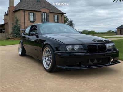 1996 BMW 318ti - 18x9 35mm - Fikse 3 Piece - Coilovers - 255/35R18