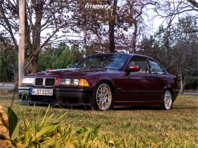 1996 BMW 328is - 17x8 38mm - BBS Xr203 - Coilovers - 225/45R17