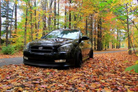 2007 Hyundai Accent - 15x8 0mm - XXR 532 - Coilovers - 165/55R15