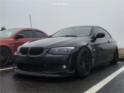 2011 BMW 328i - 18x9.5 22mm - ESR Rf1 - Coilovers - 245/45R18
