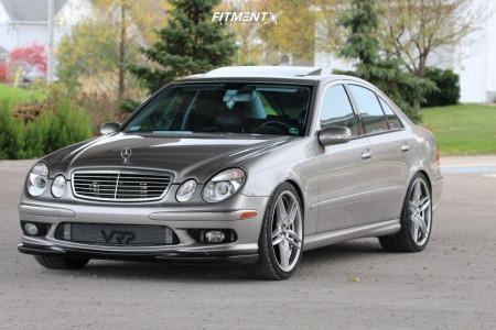 2003 Mercedes-Benz E55 AMG - 20x9 35mm - Vorsteiner V-ff110 - Stock Suspension - 255/35R20