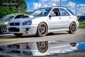 "2004 Subaru Impreza - 18x8 48mm - Rota Torque - Suspension Lift 3"" - 225/45R18"