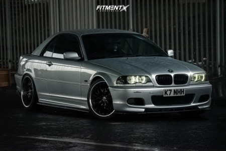 2002 BMW 330Ci - 19x8.5 35mm - Ac Schnitzer Type 2 - Coilovers - 235/35R19