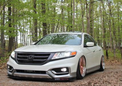 2014 Honda Crosstour - 20x10 40mm - Fortis Precision Forged Rf1 - Air Suspension - 245/35R20