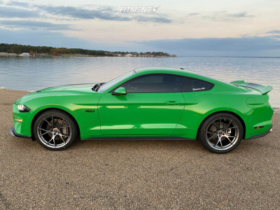 2019 Ford Mustang - 20x10 35mm - Project6gr Ten Spoke - Stock Suspension - 275/35R20