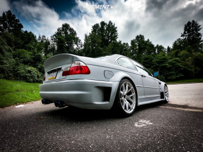 2003 BMW 325Ci - 19x10.5 22mm - ESR Rf2 - Coilovers - 275/35R19