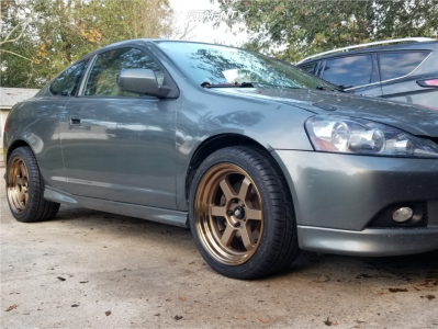 2005 Acura RSX - 17x9 20mm - MST Time Attack - Stock Suspension - 245/40R17