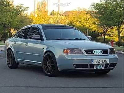 2002 Audi A6 Quattro - 18x8.5 35mm - Aodhan Ah09 - Coilovers - 225/45R18