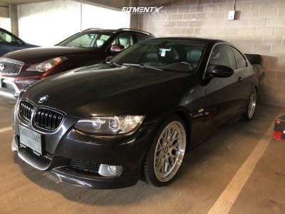 2008 BMW 335xi - 19x8.5 30mm - Apex EC-7 - Lowered on Springs - 235/35R19