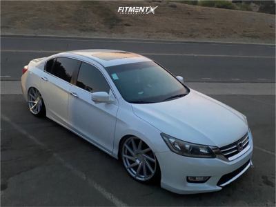 2013 Honda Accord - 20x8.5 25mm - F1R F29 - Coilovers - 235/25R20
