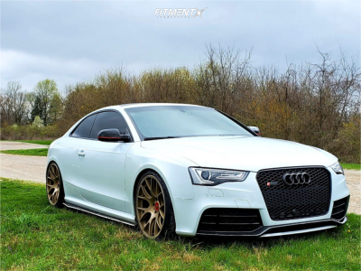 2014 Audi RS5 - 20x10.5 25mm - BBS Ch-r - Coilovers - 285/30R20