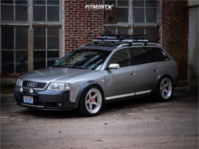 2003 Audi Allroad Quattro - 19x9.5 15mm - Aodhan Ds05 - Coilovers - 245/45R19