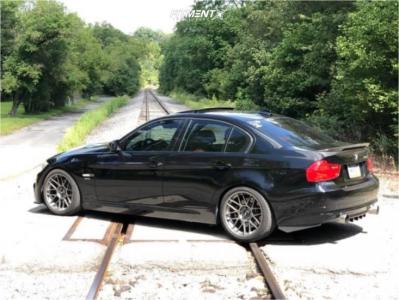 2009 BMW 335i xDrive - 18x9.5 35mm - Apex Arc-8 - Coilovers - 255/35R18
