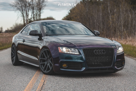 2008 Audi S5 - 19x10 45mm - Rotiform Sna - Coilovers - 275/30R19