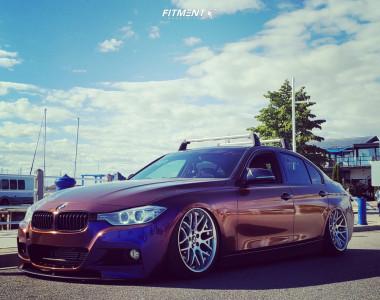 2012 BMW 335i - 19x8.5 35mm - Braelin Br06 - Air Suspension - 225/40R19