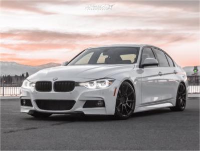 2017 BMW 340i xDrive - 18x8 35mm - Niche Essen - Coilovers - 225/45R18