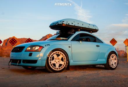2001 Audi TT Quattro - 18x9 30mm - Fifteen52 Turbomac - Coilovers - 235/45R18