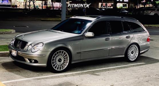 2006 Mercedes-Benz E500 - 19x8.5 35mm - Rotiform Las-r - Air Suspension - 245/40R19