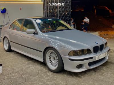 2002 BMW 530i - 17x8.5 13mm - Alpina Classic - Coilovers - 235/45R17
