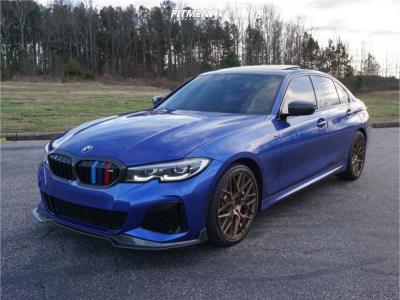 2021 BMW M340i - 19x8.5 42mm - Rohana RFX10 - Stock Suspension - 245/35R19
