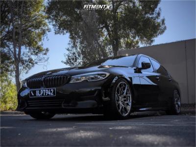 2019 BMW 330i - 19x9 25mm - HRE FlowForm Ff10 - Coilovers - 255/35R19