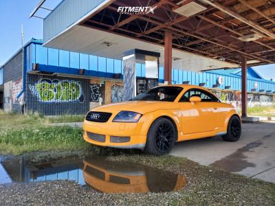 2004 Audi TT Quattro - 18x8.25 20mm - XXR 550 - Stock Suspension - 225/40R18