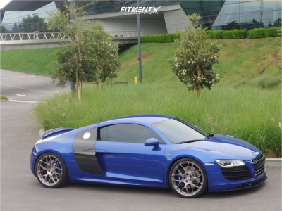 2009 Audi R8 - 20x9 38mm - HRE P40SC - Coilovers - 245/30R20