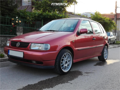 1997 Volkswagen Polo - 15x7 35mm - Rial Viper - Coilovers - 195/45R15