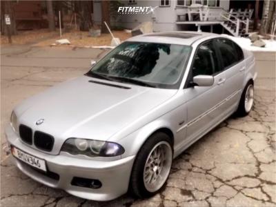 2001 BMW 325i - 19x9.5 35mm - 3SDM 0.04 - Stock Suspension - 245/35R19