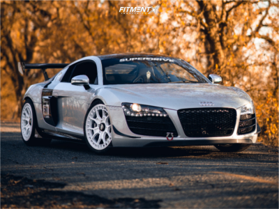 2009 Audi R8 - 19x8.5 29mm - Rotiform Zmo-m - Coilovers - 245/35R19