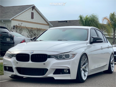 2013 BMW 335i xDrive - 19x9.5 35mm - Aodhan Aff7 - Coilovers - 255/35R19