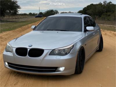 2009 BMW 535i - 19x9.5 22mm - ESR Cs8 - Coilovers - 225/35R19