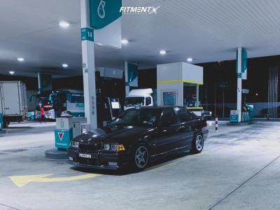 1995 BMW 325i - 16x7.5 13mm - Racing Dynamics RGP - Lowering Springs - 205/50R16