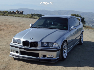 1998 BMW 323is - 17x9.5 35mm - Apex Arc-8 - Coilovers - 245/40R17