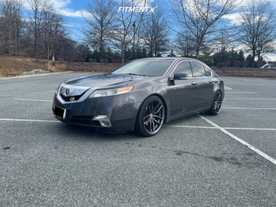 2010 Acura TL - 20x10 40mm - Niche Vosso - Lowering Springs - 245/35R20