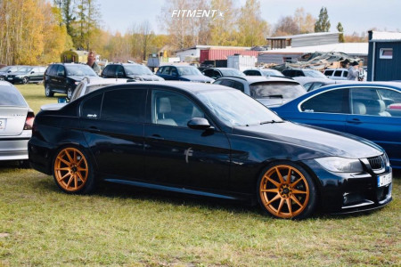 2006 BMW 325i - 19x8.5 35mm - Japan Racing Jr11 - Coilovers - 225/35R19