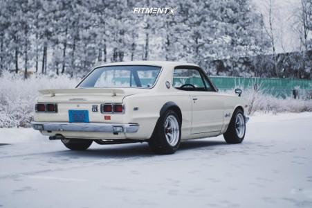 1971 Nissan 240Z - 15x8 -0mm - Atara Racing Pisang - Coilovers - 225/60R15