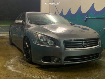 2014 Nissan Maxima - 19x9 35mm - Aodhan Aff7 - Coilovers - 245/35R19