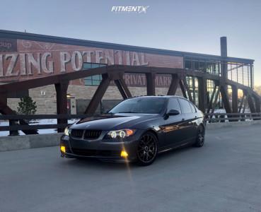 2007 BMW 328xi - 18x8 32mm - Bremmer Kraft Br09 - Lowering Springs - 225/40R18