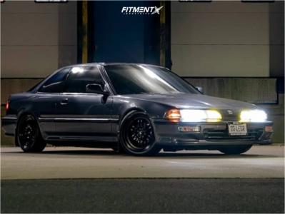 1993 Acura Integra - 16x7 25mm - MST Suzuka - Coilovers - 195/45R16
