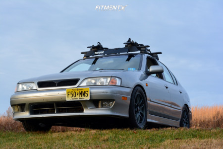 1999 Infiniti G20 - 16x7 40mm - Drag Dr31 - Coilovers - 225/50R16