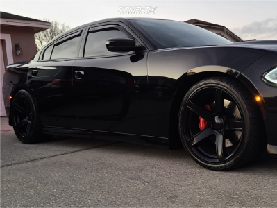 2016 Dodge Charger - 20x10.5 25mm - Voxx Replicas Hellcat 2 - Stock Suspension - 275/35R20