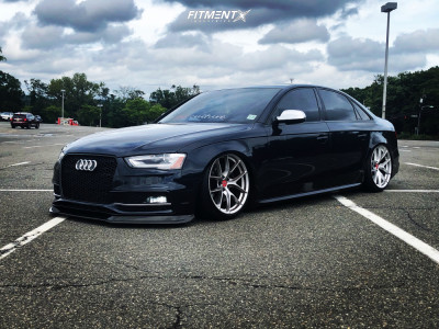 2016 Audi S4 - 19x9.5 35mm - ESR Rf2 - Air Suspension - 245/35R19