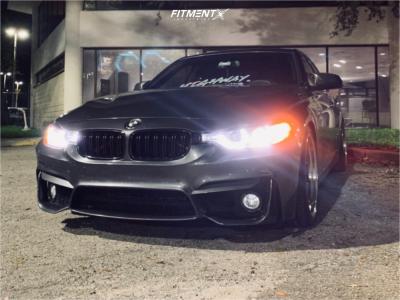2015 BMW 328i - 19x8.5 35mm - ESR Sr01 - Coilovers - 235/40R19
