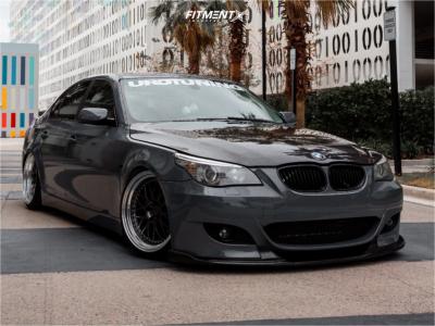 2008 BMW 528i - 19x9.5 22mm - ESR Sr01 - Coilovers - 235/35R19